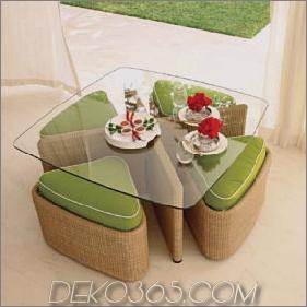 Contemporary Outdoor Furniture von Gloster - die Outdoor-Kollektion von Sushi