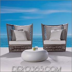 Luxury Outdoor Seating - neue Luxussitzgruppe Tunis von Expormim
