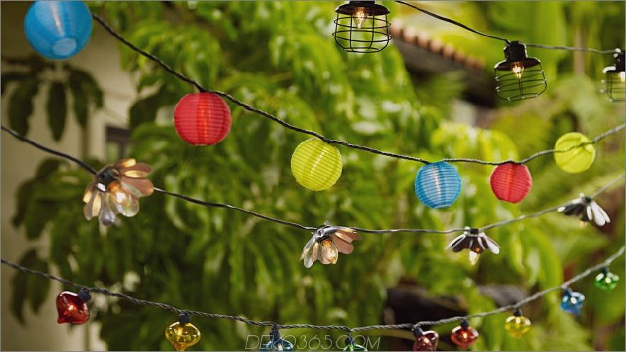 021913-Outdoor-Party-Lichter; Übergangsstil; draussen; Party Lichter; 64148 Glaspartylicht; 92368 Blumenpartylicht; 92197 Laternenpartylichter wurden in Y7366 geändert. 81203 Industrielaterne Party Licht