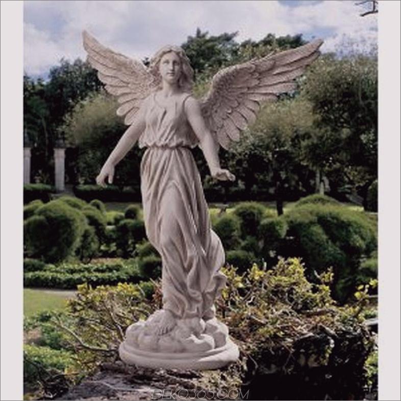 Engel der Geduld Garten Statue