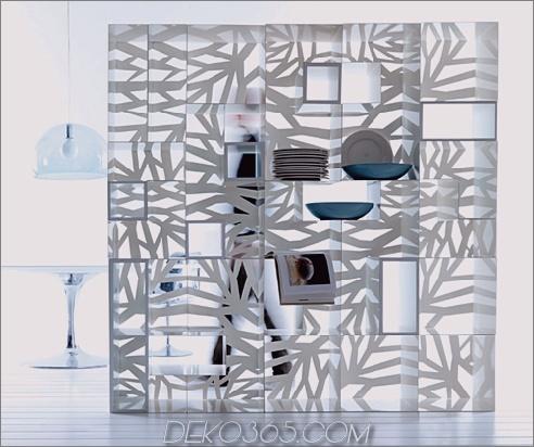 Esedra Perforierte Möbelkollektion Domino 1 Perforierte Möbel in zeitgenössischem Stil Domino von Esedra
