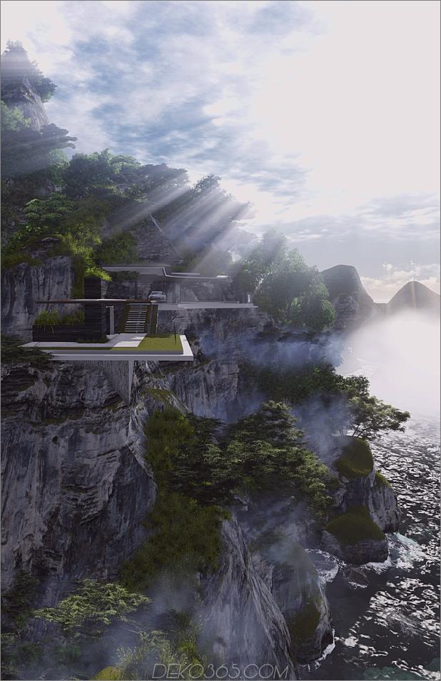 Poetic-Home-Design-Konzept hockt auf der Klippe, die Meer übersieht_5c5992798ebbc.jpg