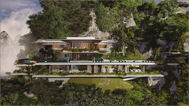 Poetic-Home-Design-Konzept hockt auf der Klippe, die Meer übersieht_5c59927b5b902.jpg