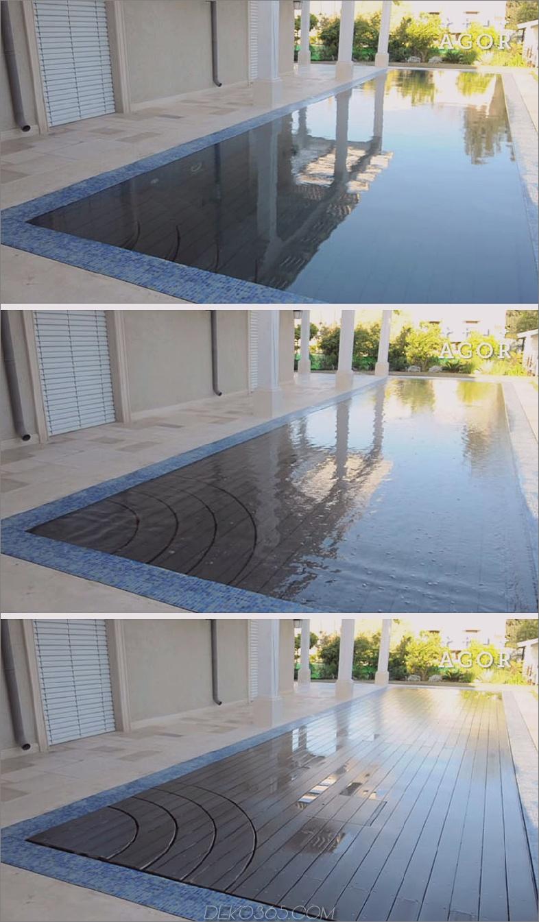 AGOR verschwindet Pool