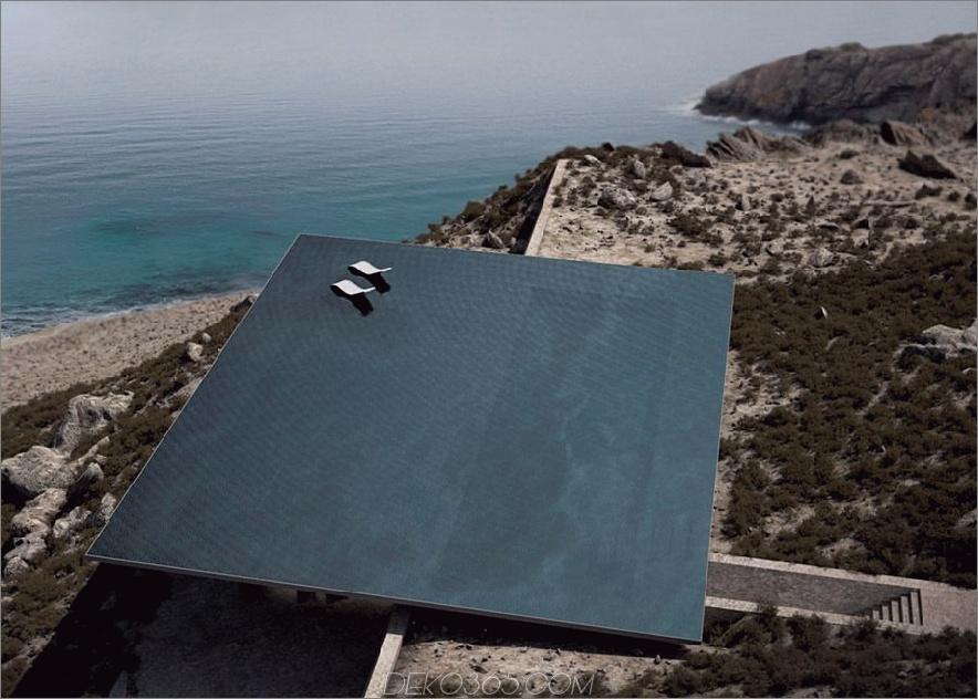 Mirage House mit Pool von Kois Associated Architects