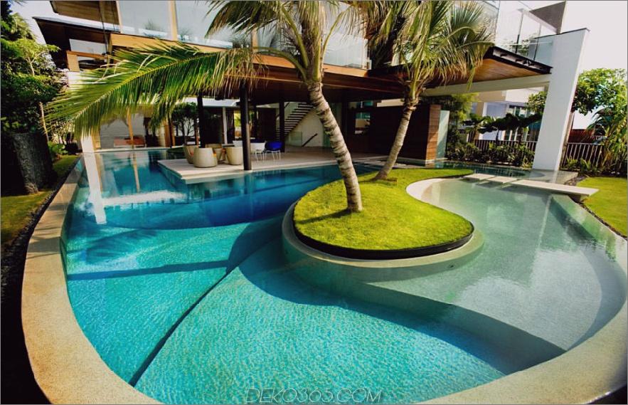 Fish House Pool von Guz Architects
