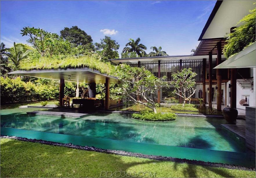 Transparenter Pool von Guz Architects
