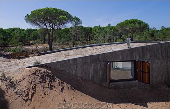 dune casa 1 Portugal Architekt übernimmt die Verantwortung für den Bau eigener Dünen!