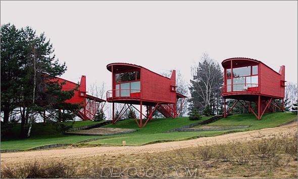 Raised Home Plan 8 - Raised Home Design - Renovierte Gästehäuser im Russian Resort