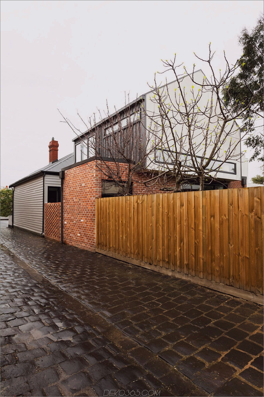 Rara Architecture Hausrenovierung 900x1350 Rara Architecture Fügen Sie dem traditionellen australischen Haus einen zeitgenössischen Monolith hinzu