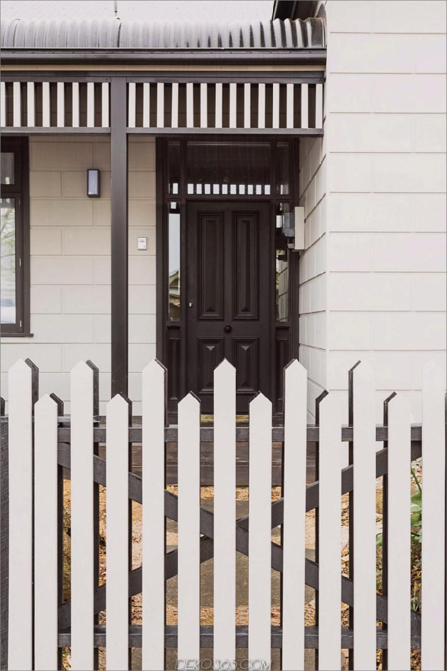 Asymmetrischer Zaun