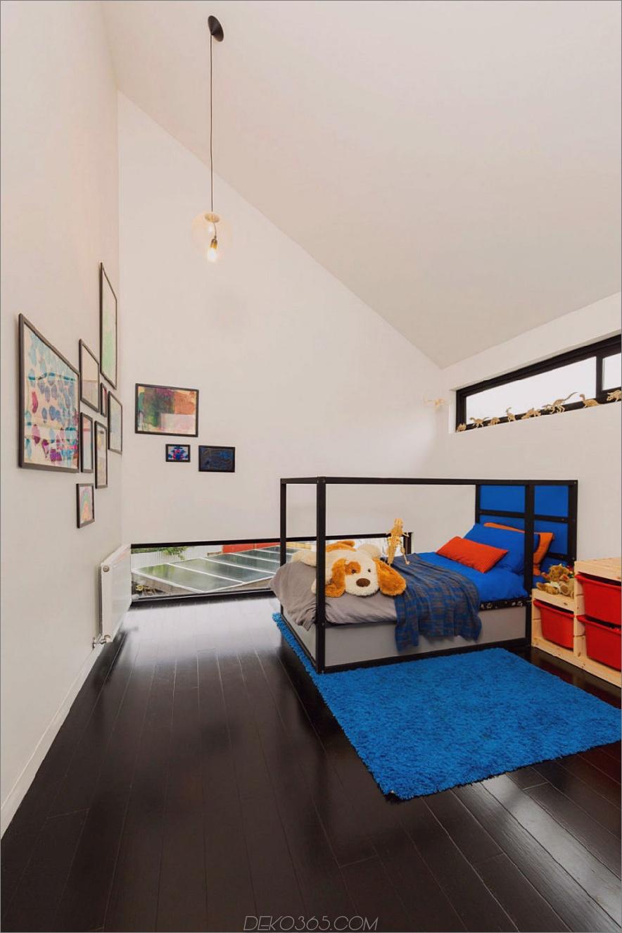Kinderzimmer mit Gewölbedecke