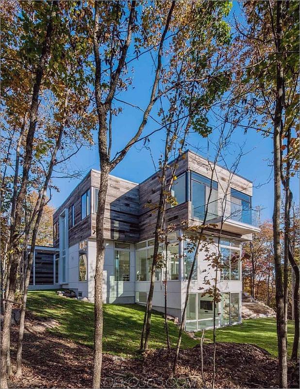 quebec home umgibt die natur mit glas und offenem interieur 2 thumb 630x817 24516 Reclaimed Wood Exteriors und Interiors House