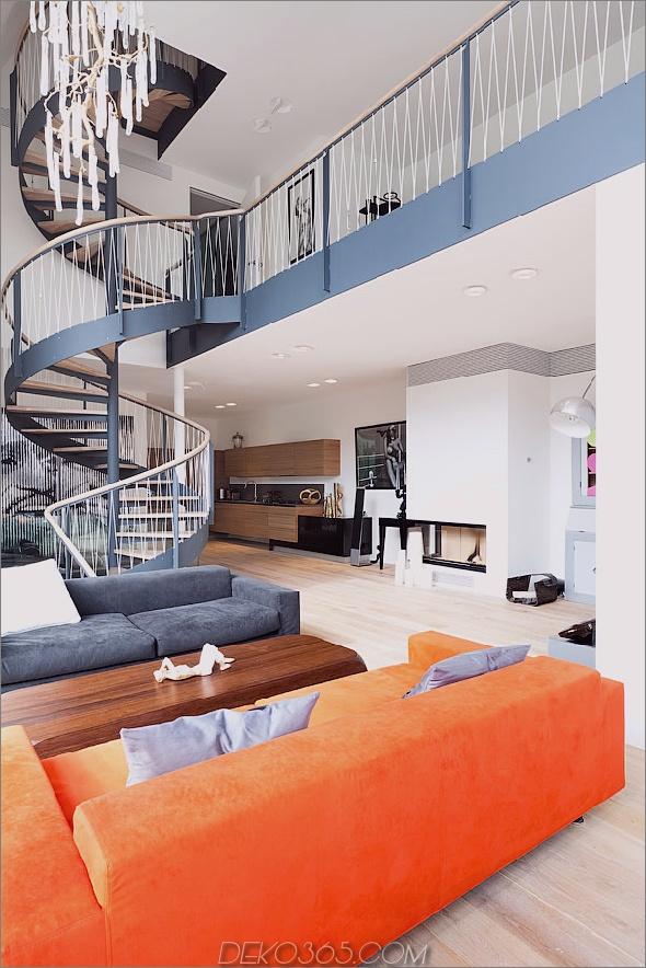 Renovierung definiert das atemberaubende Treppenhaus zu Hause neu 2 Treppenhaus thumb 630x945 19120 Renovierung definiert das Haus mit atemberaubendem Treppenhaus und offenem Schnitt neu
