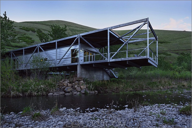 river place home% 20 Traversen auskragend an beiden Enden 1 freitragender Daumen 630x420 16800 River Place Home verwendet Traversen für Cantilever Both Ends