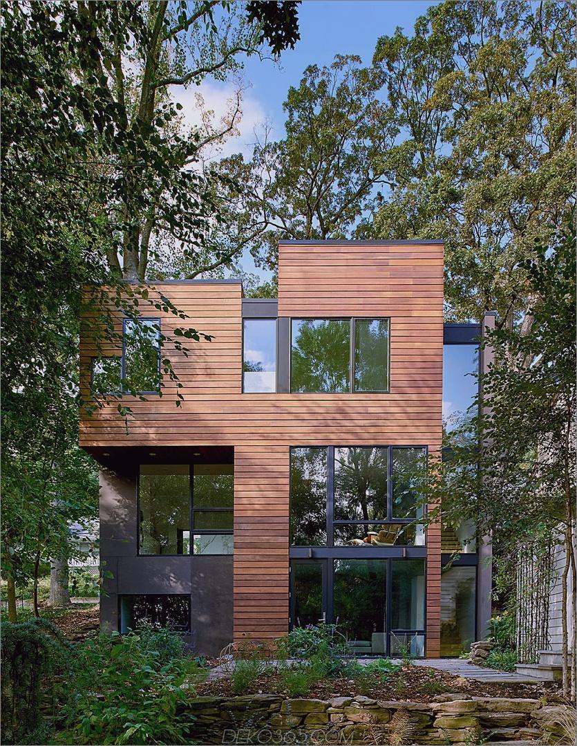 Boxy Struktur ist positiv modernistisch