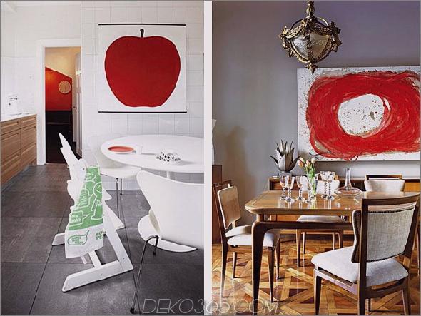 Inspiration für die rote Innenarchitektur 2 Rote Inspiration für die Innenarchitektur