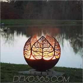 35 Feuergruben-Designs und Ideen für den Außenbereich