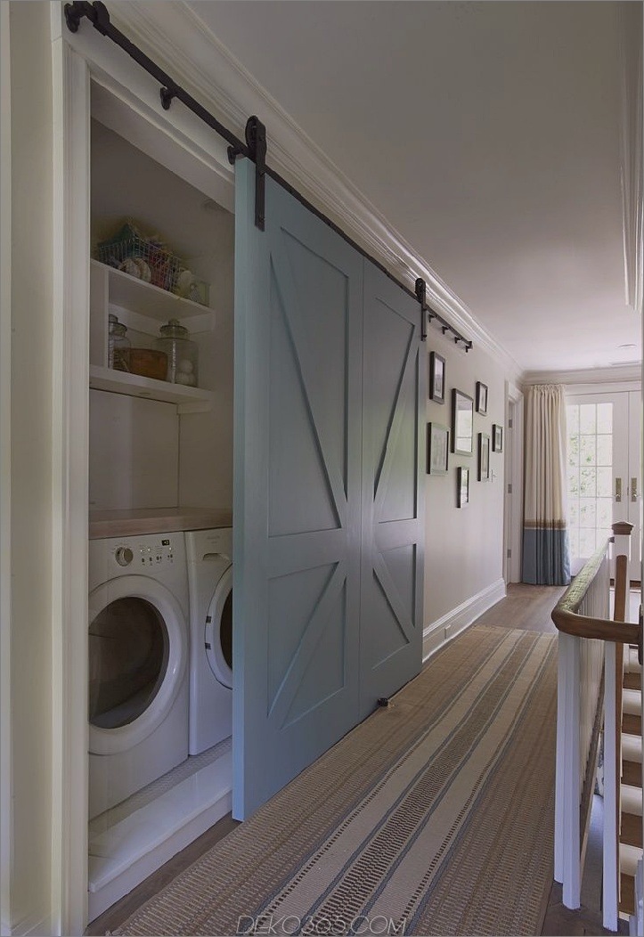 bunte Wäschetür Chic Kleine Waschküche Ideen, die Sie sehen müssen