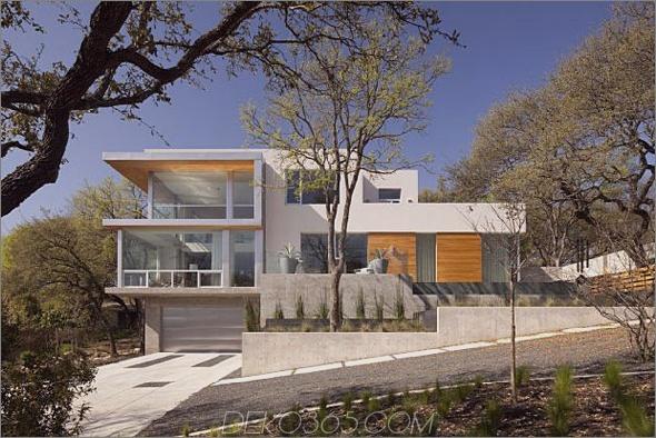 Passives Solarhaus-Design Texas 1 Schönes zeitgenössisches Häuser Passives Solarhaus in Texas