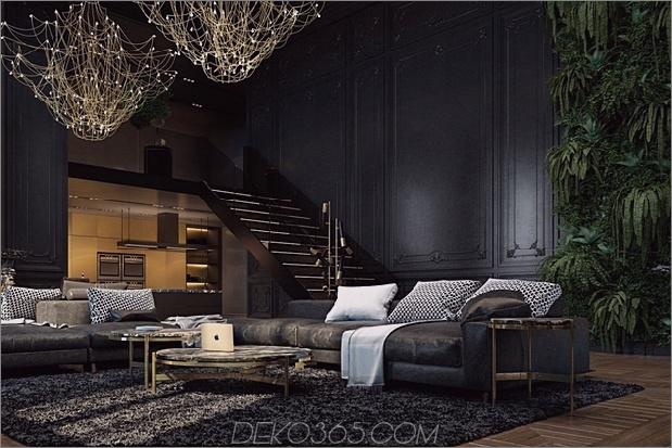 Schönes schwarzes Interieur in einem historischen Pariser Apartment_5c58df25b8fbd.jpg