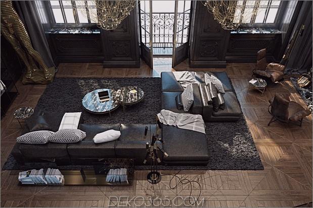 Schönes schwarzes Interieur in einem historischen Pariser Apartment_5c58df26a8bf1.jpg