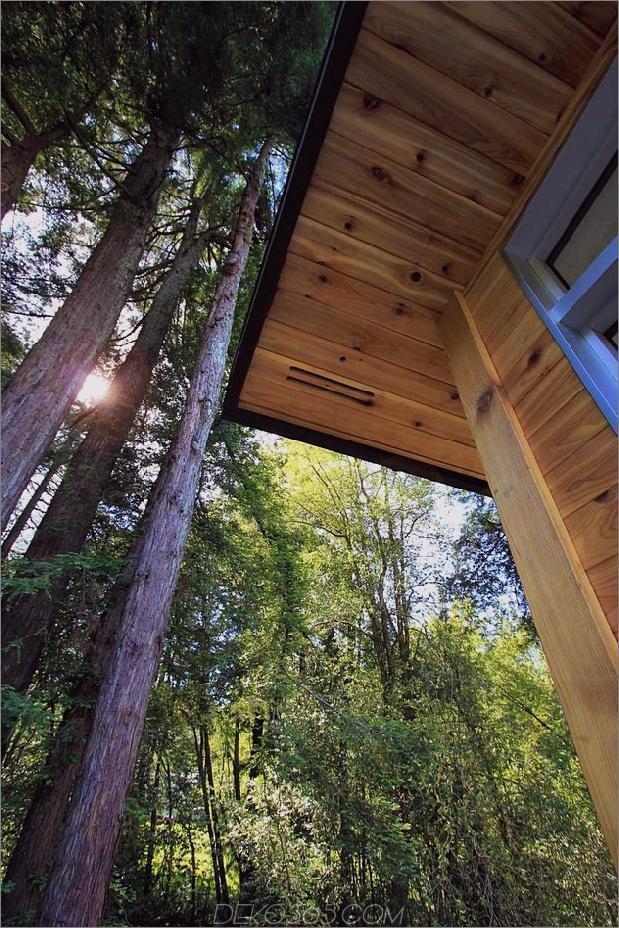 Holz Waldhaus mit modernem Interieur und Holzverkleidung 2 thumb autox945 36222 Lovely Summer House Design