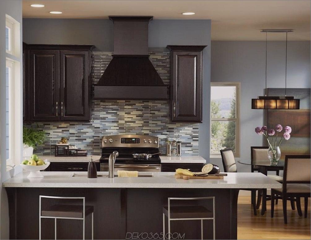 Schwarze Küchenschränke Schwarze Küchenschrank-Ideen für den Chic Cook