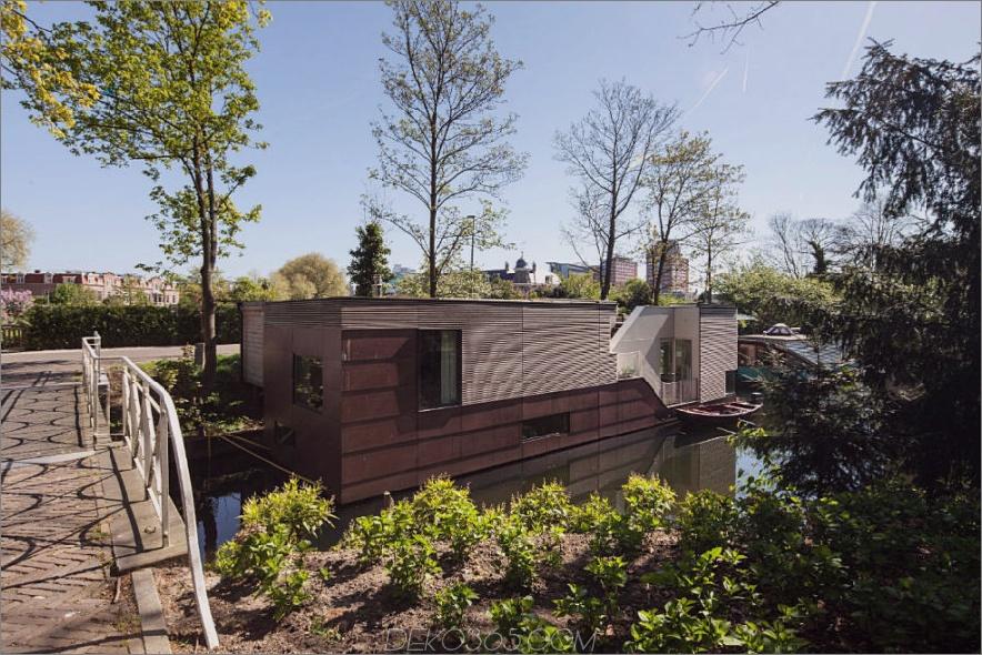 Hausboot von BYTR Architecten