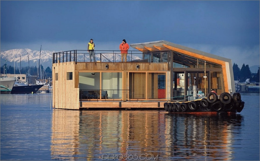 Schwimmendes Haus von Dyna Contracting,