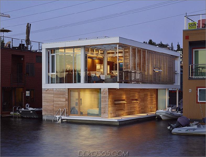 Schwimmendes Haus in Seattle von Vandeventer + Carlander Architects,