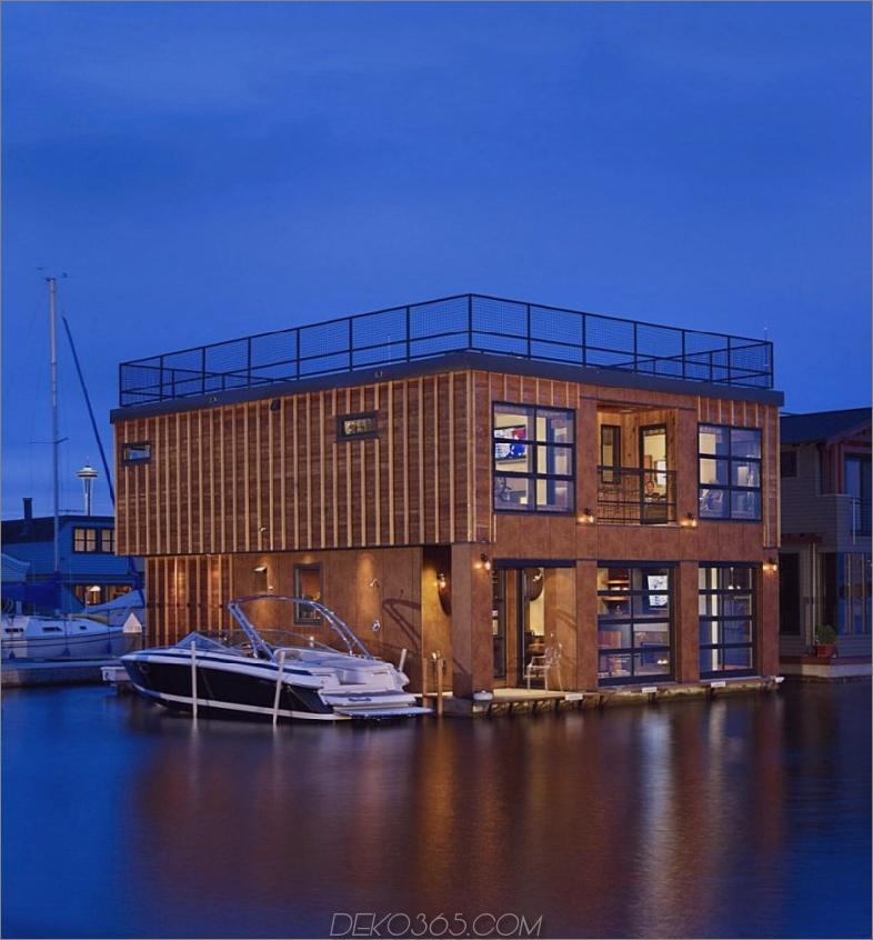 Lake Union Float Home von Designs Northwest Architects