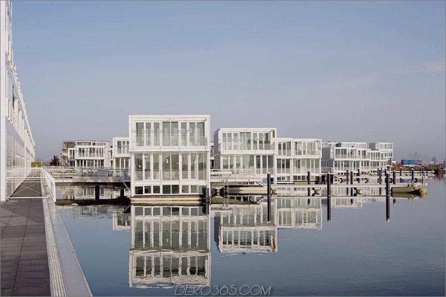Schwimmende Häuser von Architectenbureau Marlies Rohmer