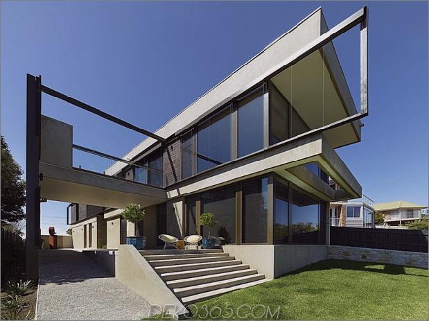 Modernes Strandhaus mit gebogener Fensterwand 5.jpg