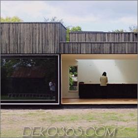 Das schlichte Design eines kleinen Hauses in Dänemark bietet viel Platz und Licht