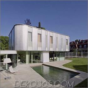 Modernes organisches Haus - natürlicher Architekturstil