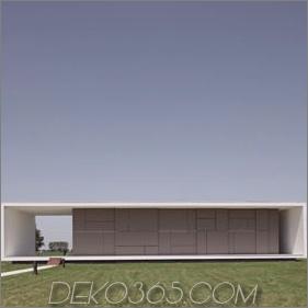 Italienische Hausarchitektur - Super minimalistisches Hausdesign