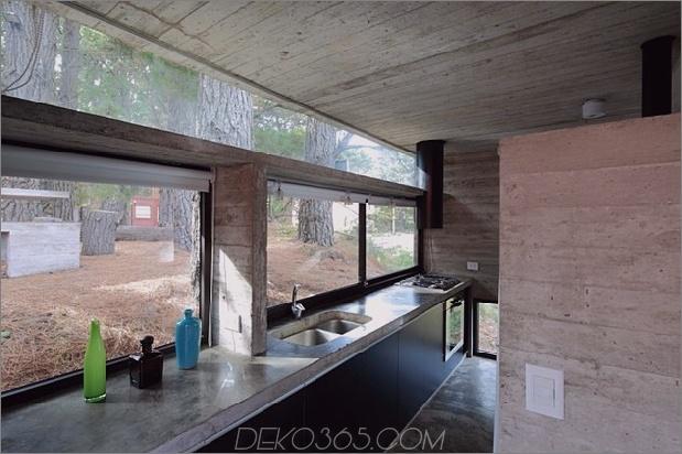 Beton-Stahl-Haus-versteckt-Kiefer-Wald-12-Küche.jpg