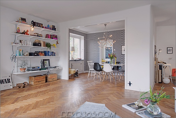 renovierte Wohnung aus den 1930er Jahren macht Spaß und fabelhaften Daumen 630x424 15018 Spaß und fabelhaft renoviertes Appartement aus den 1930er Jahren