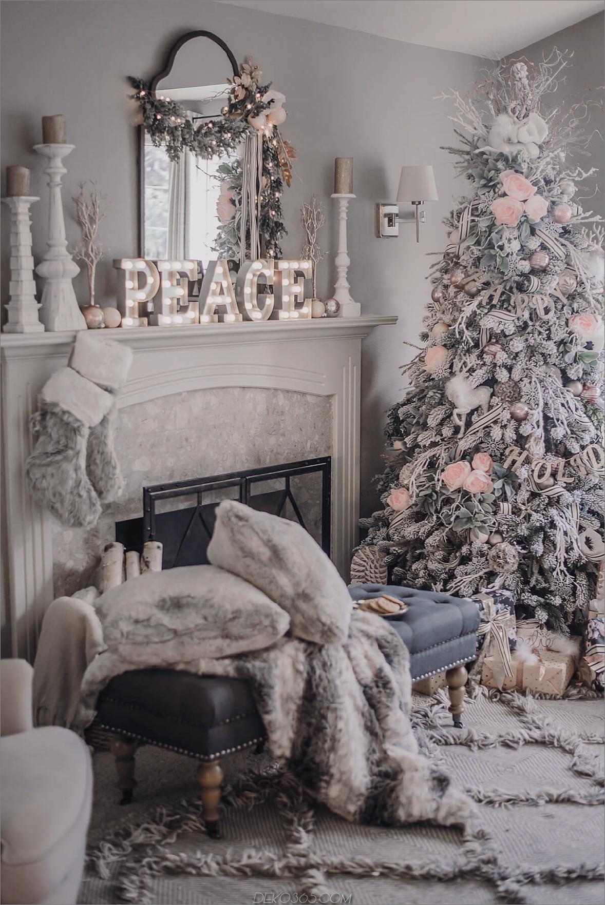 Weihnachten Schichtung Spaß und festliche Weihnachtsdekoration Ideen