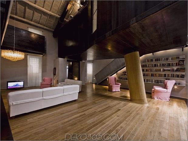 spektakuläres loft in einer neu renovierten scheune in rom 2 thumb 630xauto 38873 Spektakuläres Loft in der umgebauten Scheune in Rom
