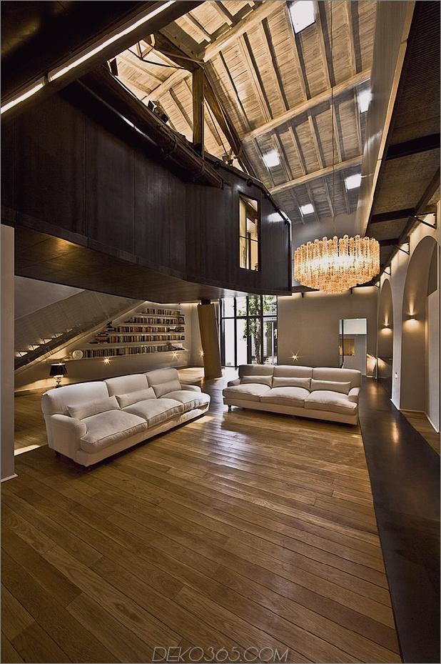 spektakuläres loft in einer rekonstruierten scheune in rom 6 thumb autox947 39025 Spektakuläres Loft in der umgebauten Scheune in Rom