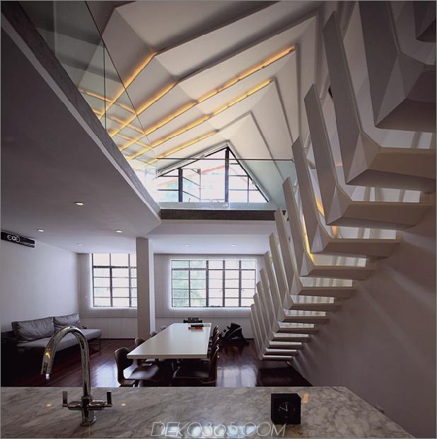 modernes geometrisches Apartment-Loft mit schönen Knochen 1 thumb autox631 33977 Städtische Verschönerung eines Apartment-Lofts