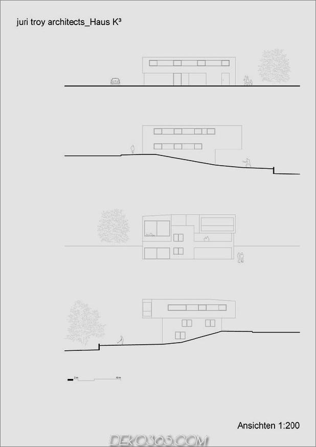skulpturales Holzhaus mit gestapelten Ergänzungen für drei Familien 14.jpg