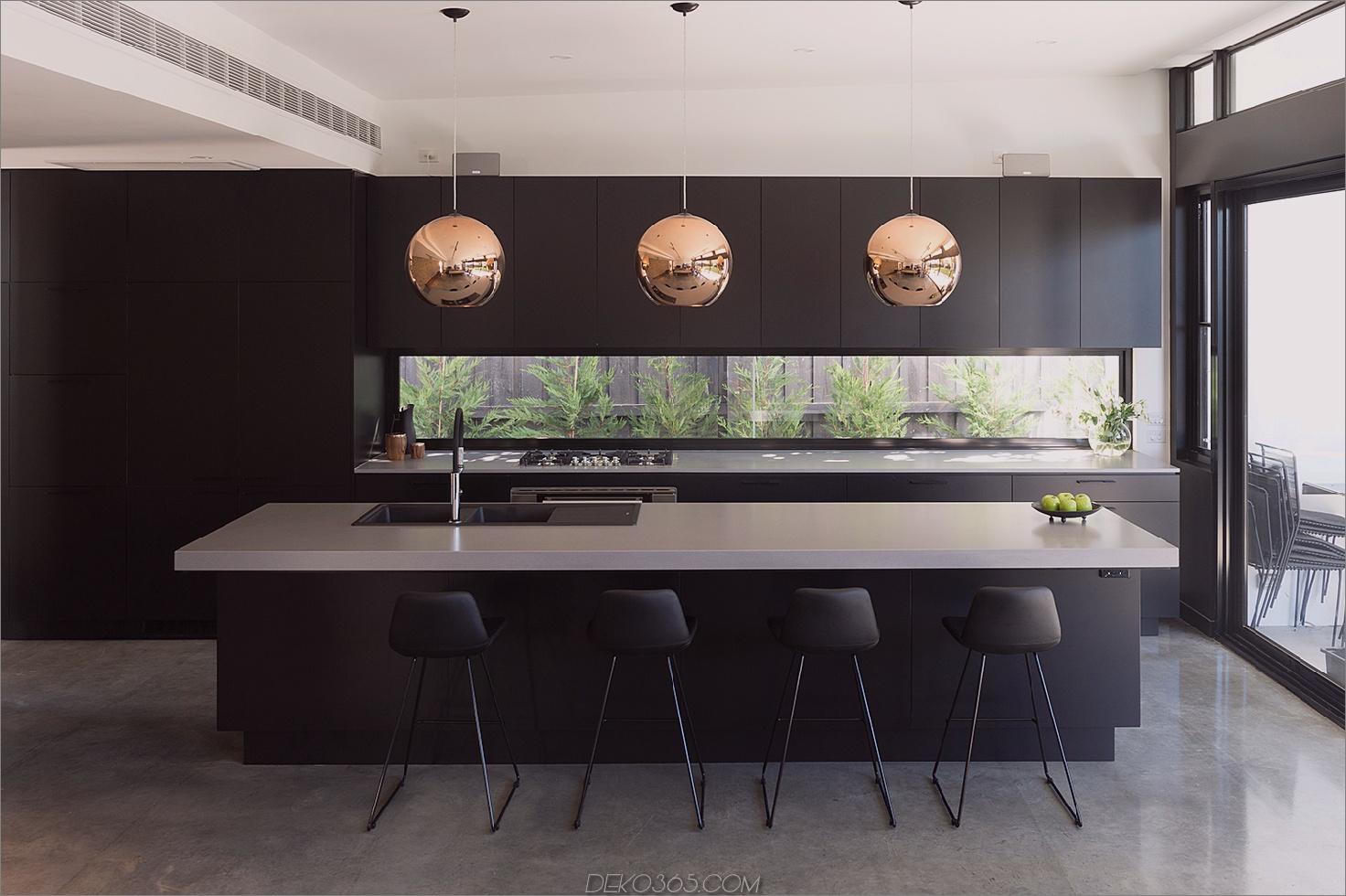 rohe Betonküche Stilvolle Küchenarbeitsplatten-Ideen, die hier bleiben werden