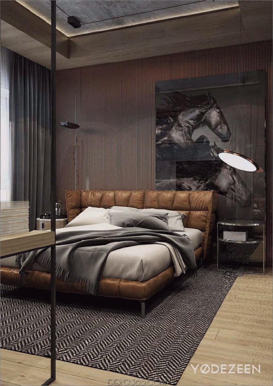 Residenz in Tiflis von Yodezeen Designs 900x1269 Stilvolle Schlafzimmer-Designs, von denen Sie nie geträumt haben