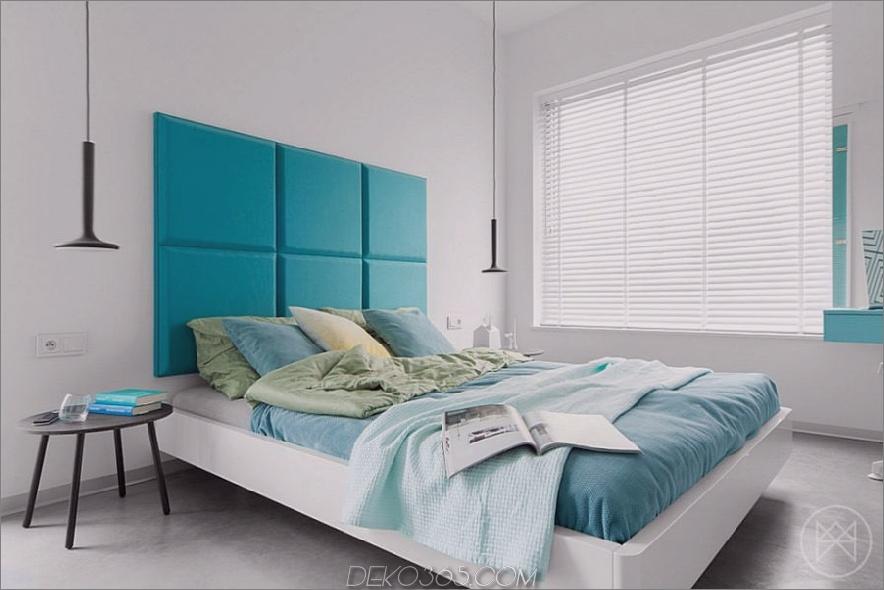 Modernes helles Schlafzimmer von Widawscy Studio Architektury
