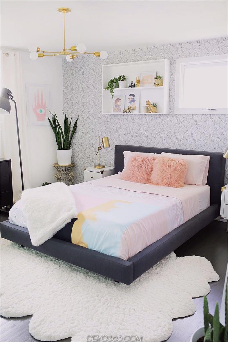 Modisches Schlafzimmerdesign