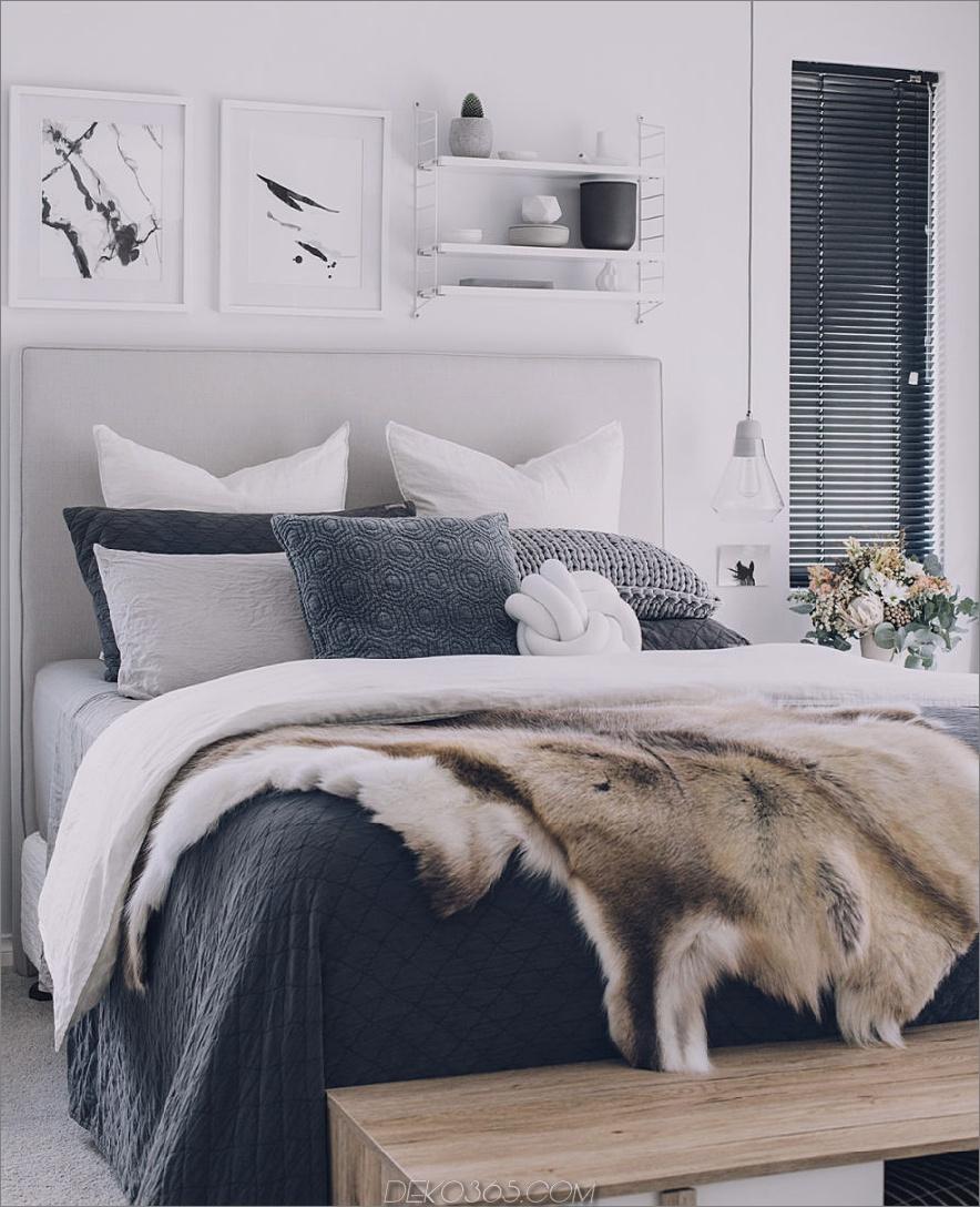 Cooles Schlafzimmerdekor