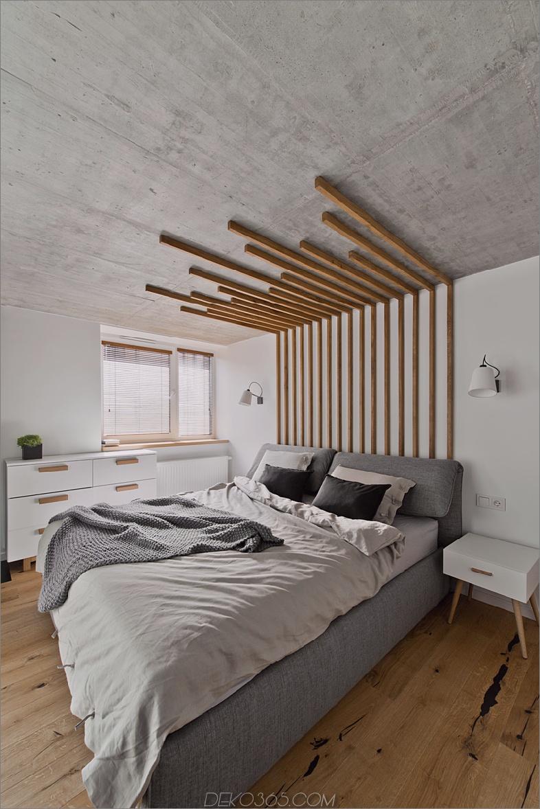 Schlafzimmer mit Wandleuchten von InArch